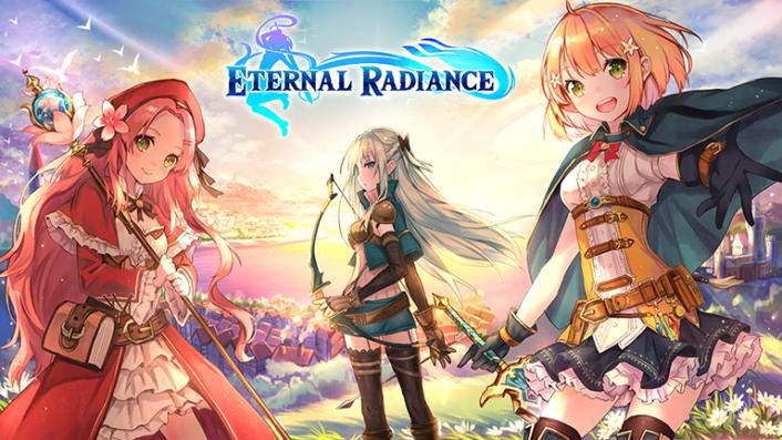Eternal Radiance Title Logo